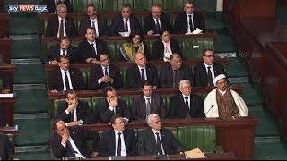 برلمان تونس يمنح الثقة لحكومة الصيد