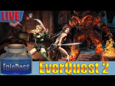EverQuest 2 - Fallen Gate TLP Server - Relapse Guild - EoF Raid 2018!