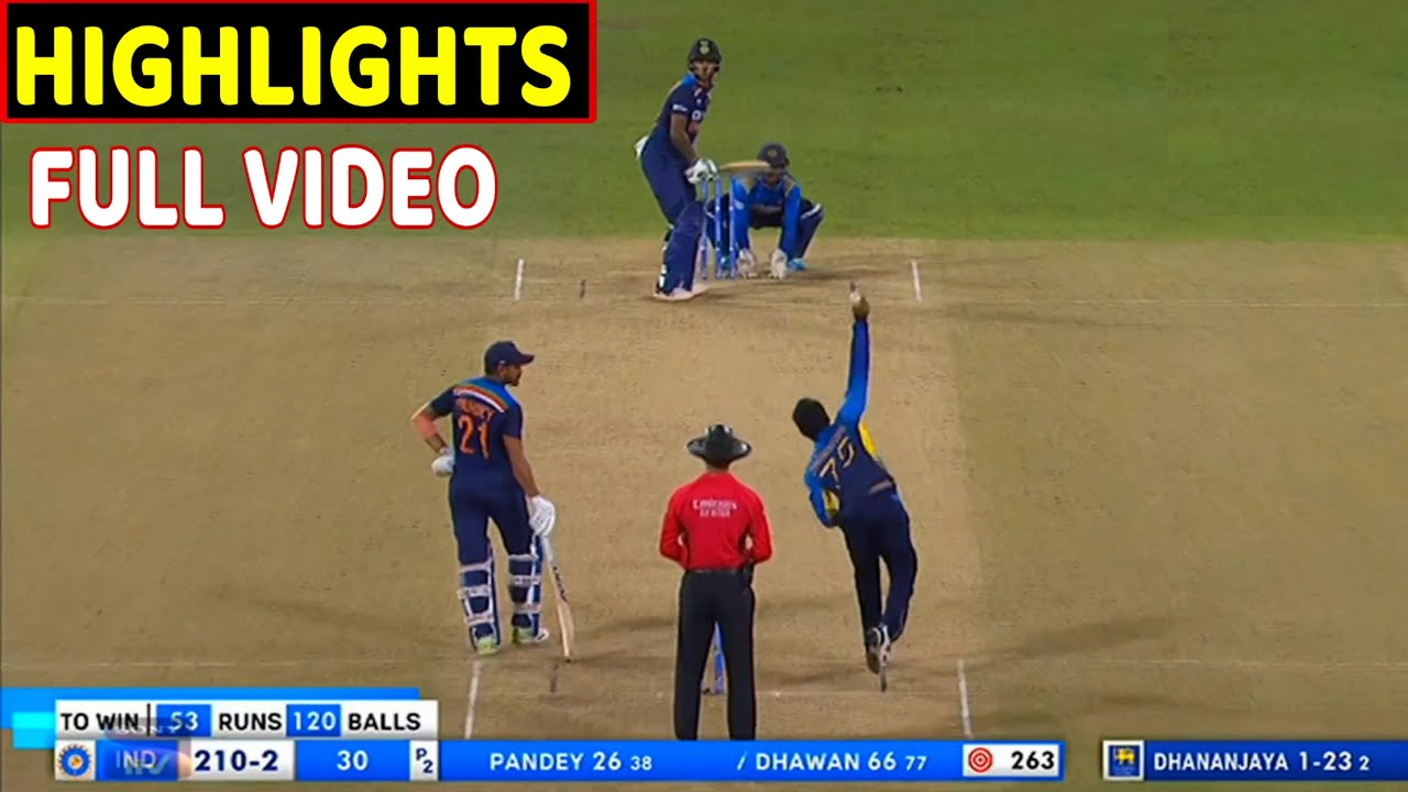 Sri Lanka vs India: Opening The Batting Together Has Made Our ...
