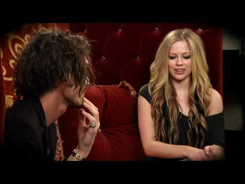 Avril Lavigne And Tyson Ritter From All American Rejects Talk Almost Alice