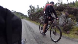 Mountain Biking Scotland (Aberfoyle, Forestry Commission, Ben Lomond) Part 3