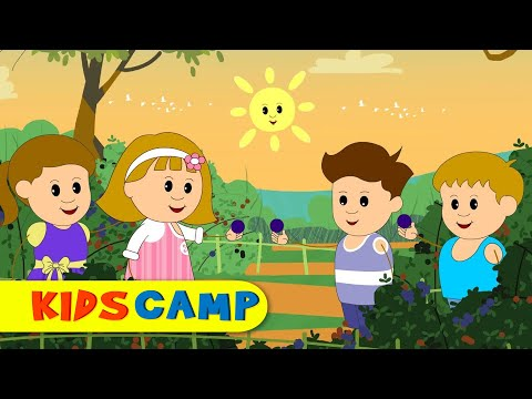 Here We Go Round The Mulberry Bush | Nursery Rhymes | Popular Nursery Rhymes by KidsCamp