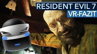 Resident Evil 7- VR-Fazit: Ist das die Zukunft der Spiele?