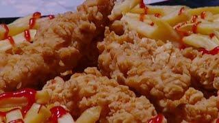 دجاج مقرمش حار - غادة التلي