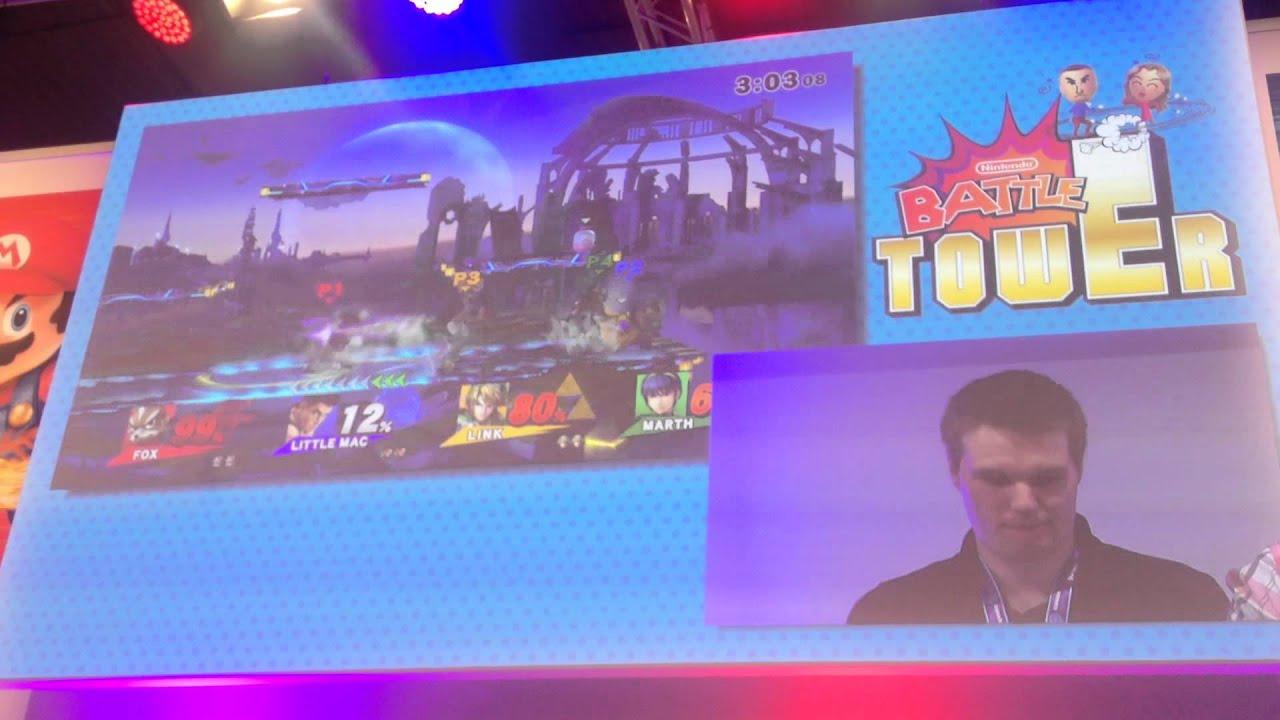 Gamescom 2014 - Super Smash Bros. for Wii U