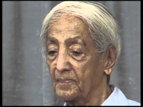 J. Krishnamurti - Brockwood Park 1985 - Public Talk 2 - The relationship of time and thought to fear