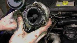 VW Passat 1.9 tdi EGR + Inlet Manifold Removal + Cleaning