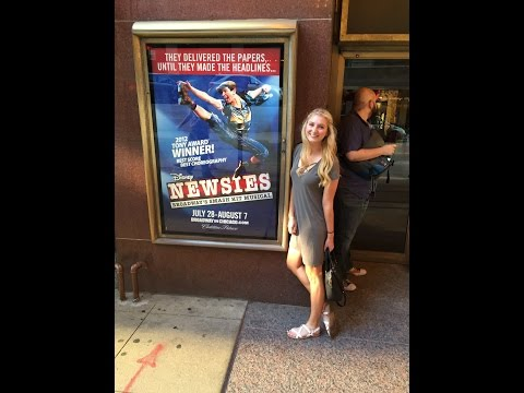Chicago Trip to see NEWSIES! W/ STAGEDOOR