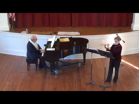 20180421 05 Lehrman: Sonatina for Flute & Piano - 2 movements (1965)