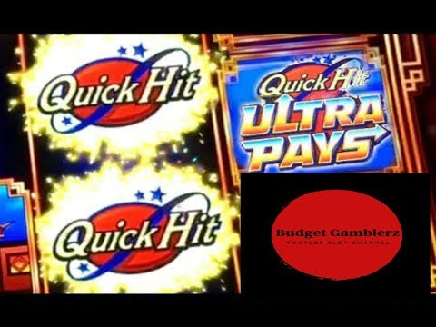 BUFFALO GOLD / QUICK HIT ULTRA PAYS ~ Free Spin Bonus ~ Nice Win ~ Live Slot Play @ San Manuel
