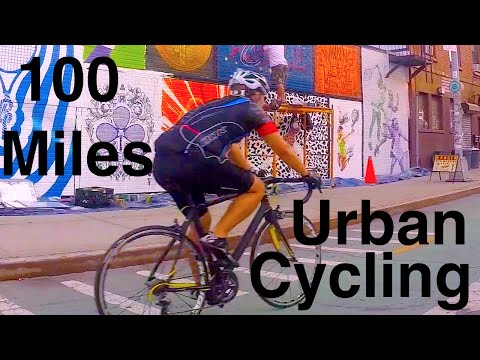 100 miles of Urban Cycling New York City to Countryside - C-vlog 017