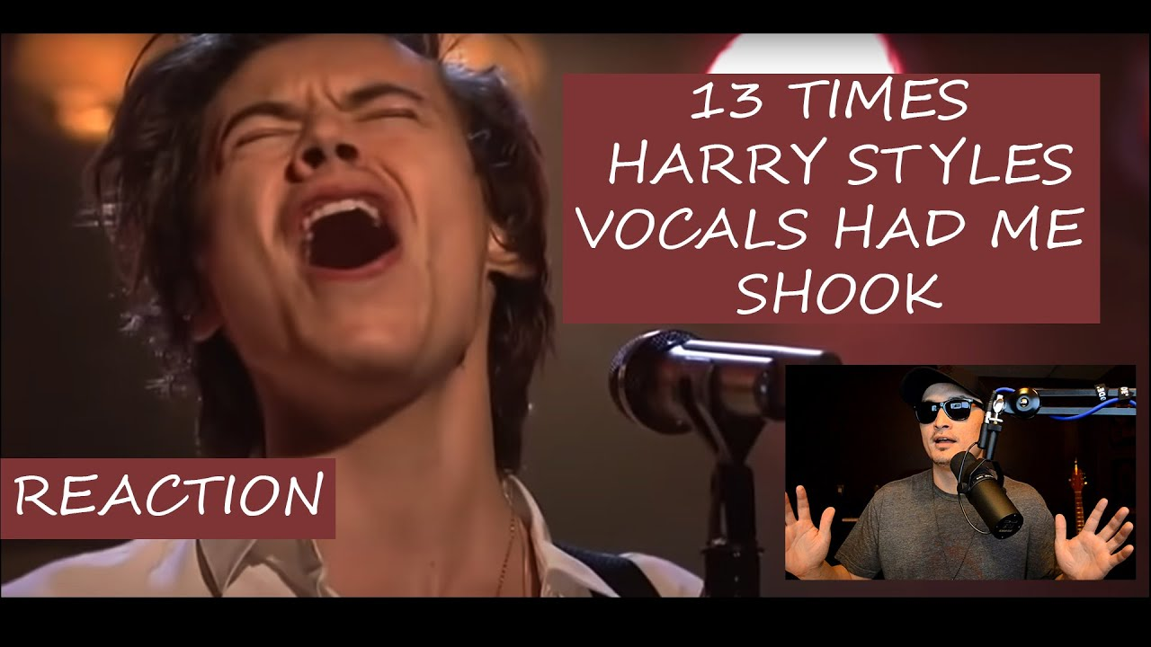 Tommy Marz Reacts to 13 Times Harry Styles Vocals Had Me SHOOK