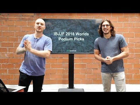 Who's Going To Win 2018 IBJJF Worlds? We Predict!
