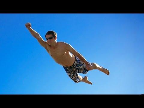 Как человек летает