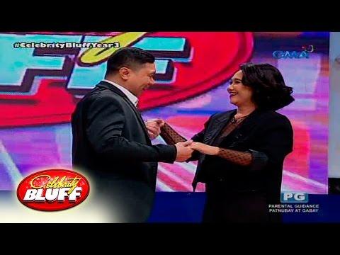 """Celebrity Bluff: Eugene Domingo at Jose Manalo, nag-""""I love you"""" sa isa't isa"""