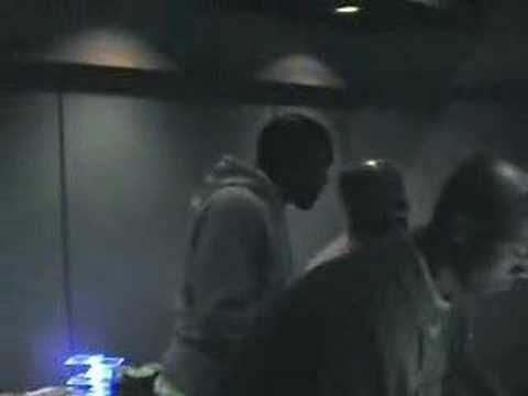 "Kanye in the studio making the ""Good Life"" beat nearly 10 years ago"