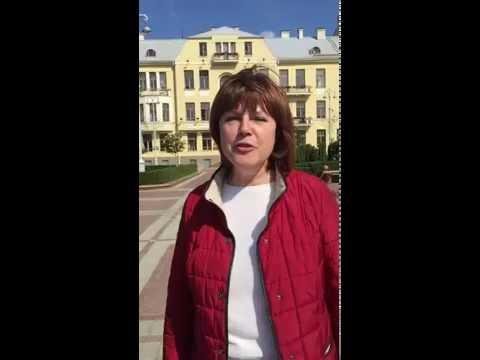Message de Larissa, notre guide au Bélarus