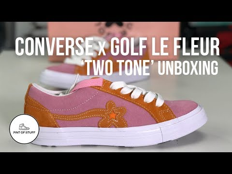 Converse x GOLF le FLEUR One Star Two Tone Sneaker Unboxing with SJ