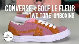Converse x GOLF le FLEUR One Star 'Two Tone' Sneaker Unboxing with SJ