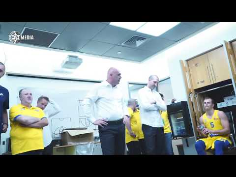 Neven Spahija's Locker room speech after W 98:74 vs Hapoel Tel Aviv