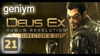 Стелс прохождение Deus Ex: Human Revolution - Director's Cut. (без убийств). Часть 21.