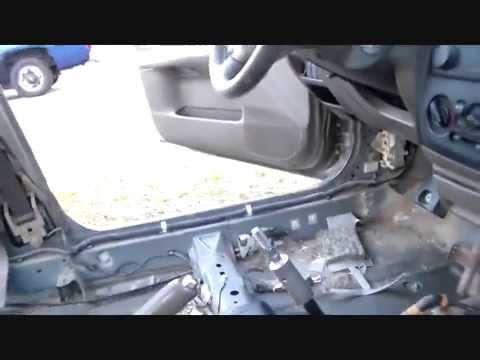 Mazda Protege interior removal