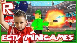 EGTV Minigames / King of Platforms / EthanGamerTV Roblox Minigames