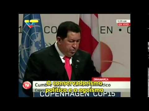 Discurso Prohibido de Hugo Chávez  en la COP 15, Copenhague Dic  2012