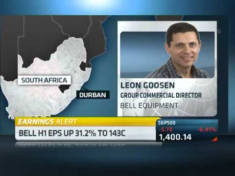 Bell Equipment Company Interim Results with Leon Goosen