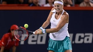 2016 Coupe Rogers First Round | Petra Kvitova vs Magda Linette | WTA Highlights