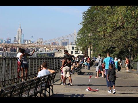 ブルックリン観光スポット / Brooklyn Heights Promenade