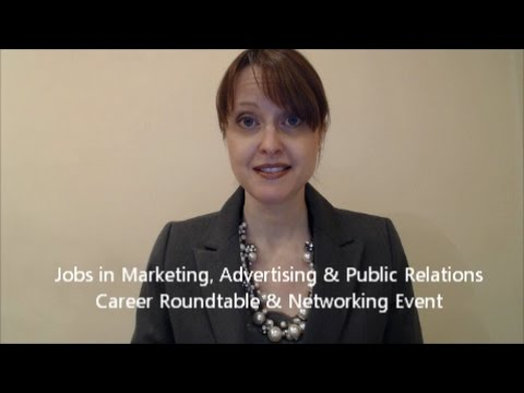 Jobs in Marketing, Advertiisng and PR Career Event May 9 2017