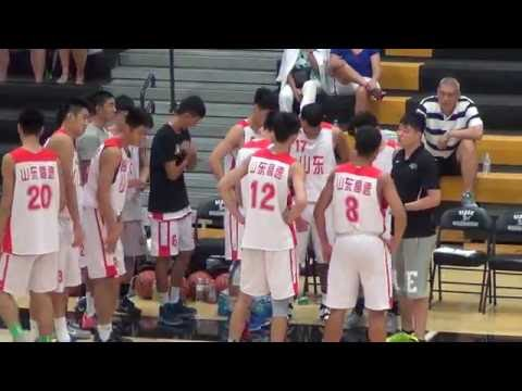 Oklahoma Express  vs Shandong Providence CHINA 2016 Bigfoot Hoops Last Call