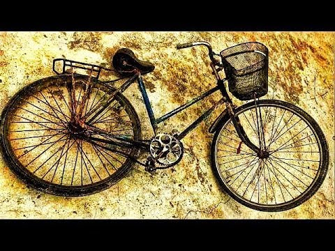 Restoration bicycle old