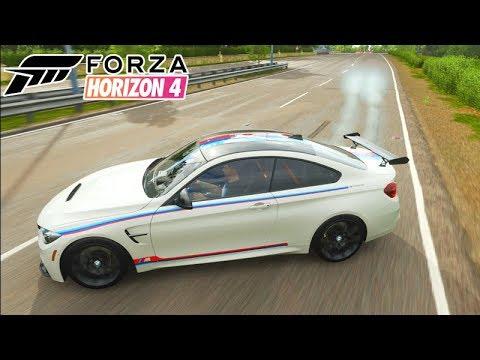 FORZA HORIZON 4 - BMW M4 DE CORRIDA!!! (EDIÇÃO ESPECIAL)
