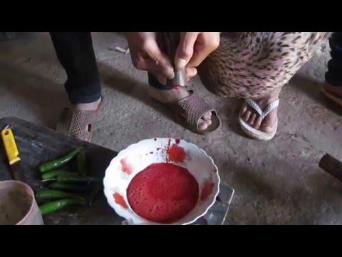 Tam Lung: đánh tiết canh vịt