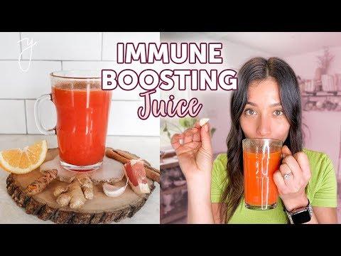 IMMUNE BOOSTING JUICE💪 I The best cold & flu remedy - YouTube