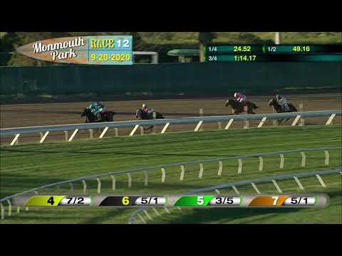 video thumbnail for MONMOUTH PARK 09-20-20 RACE 12