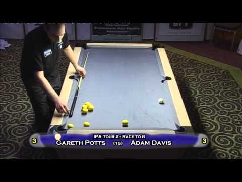 Gareth Potts vs Adam Davis (IPA Tour 2012)