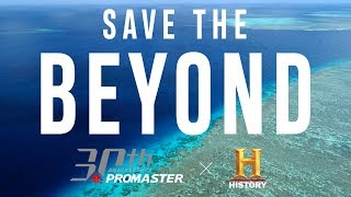 YouTube動画:【海を救え!珊瑚を絶滅から守る男】#SavetheBEYOND - シチズン プロマスター30周年 特別動画