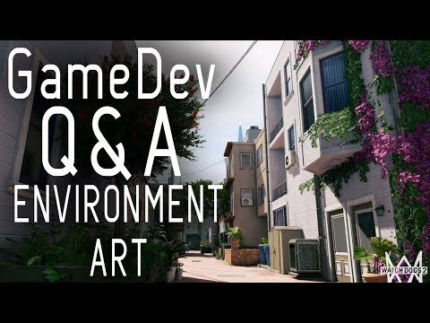 Video Game Environment Art and Level Design Tips - Game Developer Q&A  episode 01 thumbnail