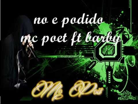 "Rap desamor ""no e podido""mc poet ft barby (liri-k versatil)"