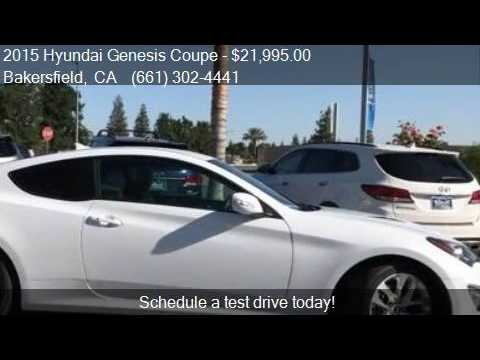 2015 hyundai genesis coupe 3 8 2dr coupe for sale in bakersf youtube. Black Bedroom Furniture Sets. Home Design Ideas