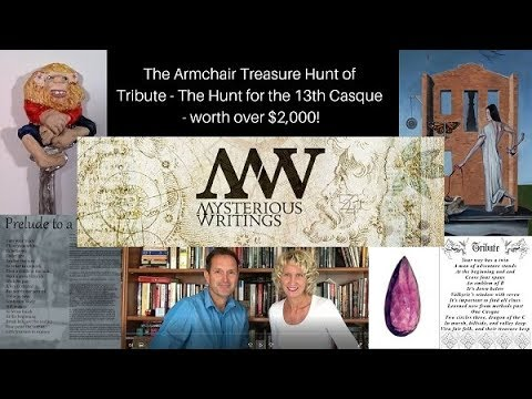 Armchair Treasure Hunt worth over $2000: Tribute ~ The ...
