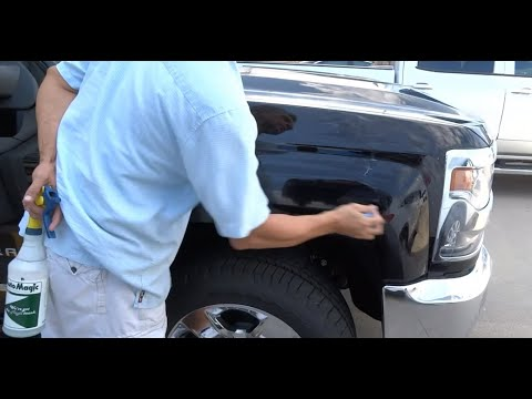 Silicone Roofing Coating Overspray Repair / 2017 Chevy Avalanche / National Overspray Service