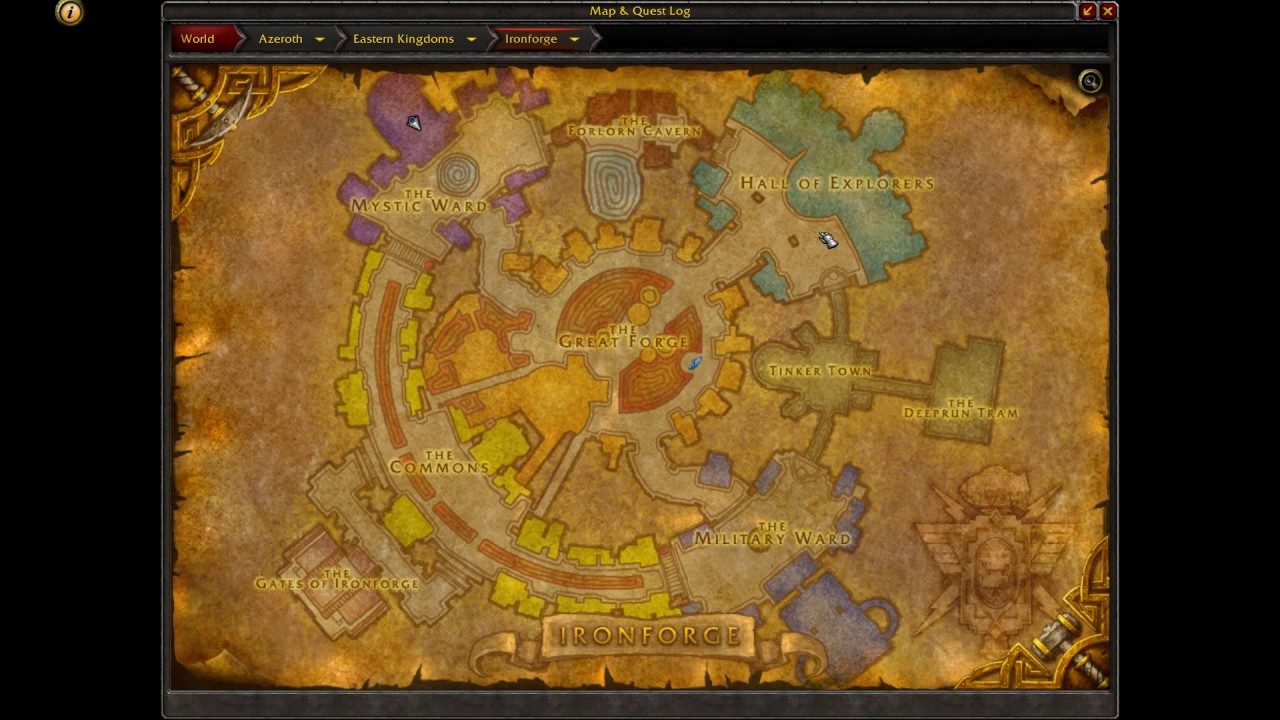 Where Is Heirloom Vendor Location (alliance)  Wow Legion