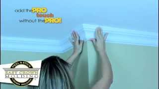 Easy Crown Molding