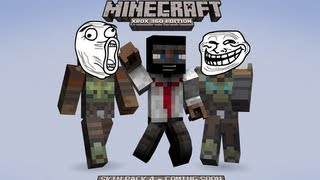 Minecraft Xbox 360 | Skin Pack 4 Revealed | GoW Dragon Age Assassin's Creed