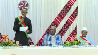 FESPACO Banquet Dinner   | Remarks by President Kagame | Ouagadougou, 1 March 2019