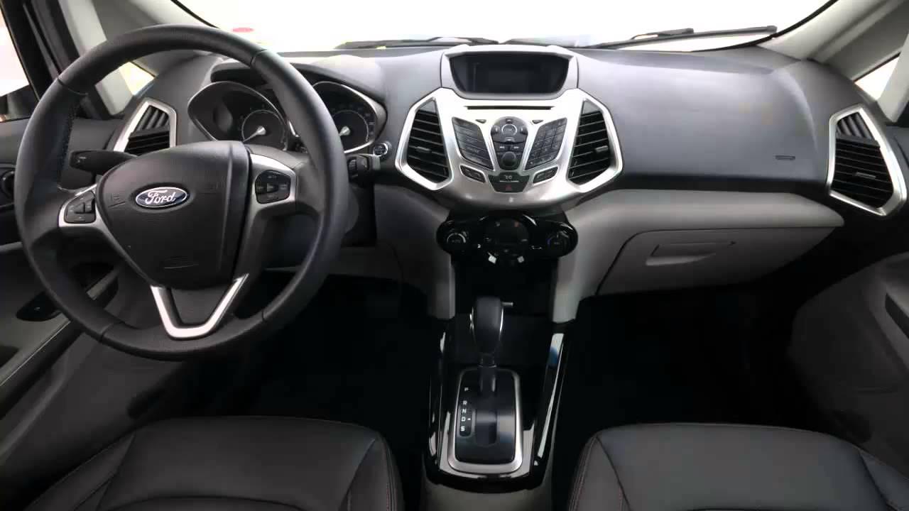 Car Interior Ford EcoSport Powershift 2013  YouTube
